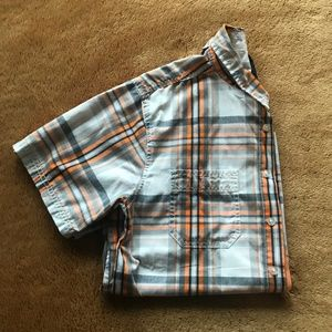 Faded Glory Boys Plaid Button down